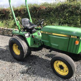 John Deere 955 Compact tractor 2